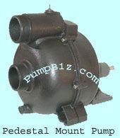 Gorman-Rupp 3S5PC 3 Pedestal Drive Trash Pump