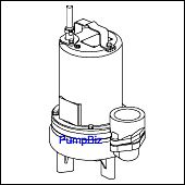 Barnes 3SEV1094L 3SE High Flow sewage pump 104911