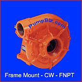 Berkeley 3-1/2zrl Frame mount pump