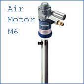 Finish Thompson PFS-40 M6 air powered drum pump Stainless  DRUM PUMP   Air Motor. M6