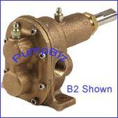 Hypro B1 Bronze Pedestal Gear Pump