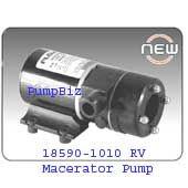 Jabsco 18590-2094 24V CE Macerator Pump