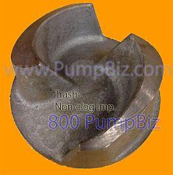 Koshin 115447 2 inch Trash Pump Impeller