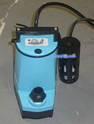 Floor Flood Protection Kit submersible pump electric