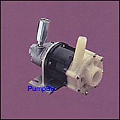 March BC-4C-MD-AM Magdrive pump  air motor