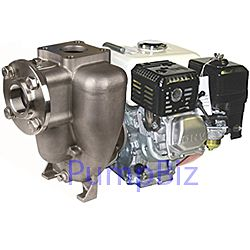 MP 36764 stainless steel flomax fm8 pump gas engine self priming