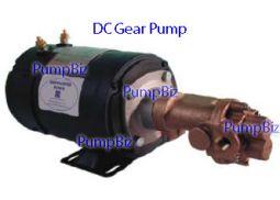 Oberdorfer N991R-32A96 12vdc Bronze Rotary Gear Pump w/ relief valve
