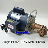bronze gear pump with motor n992