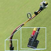 TF5 string trimmer pump attachment to weed wacker