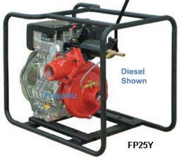 Riverside L1625Z FP25Y  Diesel Fire pump 2 1/2