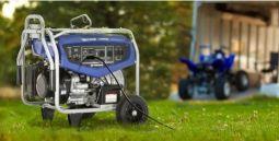 EF7200DE generator in use