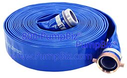 Blue water Discharge Hose w/ couplings