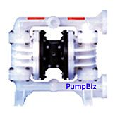 All-Flo C150-FPK-TTKT-B70 PVDF Air Operated Double Diaphragm Pump Bolted Series