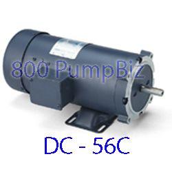 DC motor Leeson 1/2HP 90v 56C