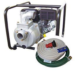portable fire pump kit high pressure water honda gas engine