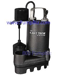 glentronics Pro Series - CIS-50V: Cast Iron Sump pump