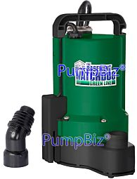 submersible automatic utility pump