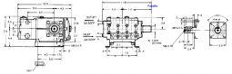T 69 Triplex Plunger 7.4hp dimensions