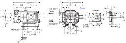 T 49 Duplex Plunger 2.4hp Solid Shaft