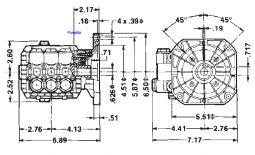 TT 51 Triplex Plunger 3.8hp