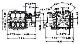 TT 51 Triplex Plunger 4.3hp