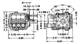 TT 51 Triplex Plunger 2.6hp