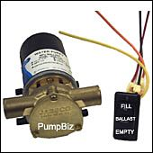 Wakeboard Towboat Ballast Puppy Pump