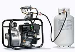propane LP koshin Water Pump 2 inch Semi-Trash stv-50x