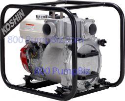 """Koshin - KTH-80S: Koshin Trash Pump 3"""" Honda"""