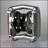 All-Flo A100-NA3-SS3E-000 Stainless Steel Air Operated Double Diaphragm Pump