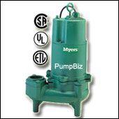 Myers - WHR20H-21: Sewage Pump 1ph-2hp