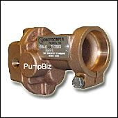Close Coupled Bronze Rotary Gear Pump w/ relief valve