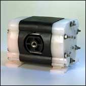 All-Flo A025-SQP-STPE-Y70  Nylon Air Operated Double Diaphragm Pump