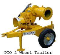 PumpBiz 8X6PTO Rainbow PTO Drive Pump 8 inch Trailer