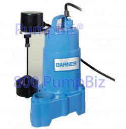Barnes - SP33VFX Sump pump