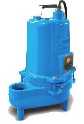 submersible effluent solids handling pump vortex 1/2HP Barmesa - BPEV512A