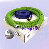 PumpBiz SHKAT3 3 inch NPT (M amp; F) ALL-Weather Suction Hose Kit