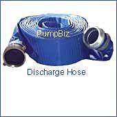 PumpBiz 1145-4000-50 4 x 50' PVC Discharge Hose