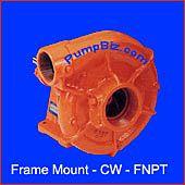 Berkeley hydraulic frame mount water pump