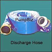 water Discharge Hose_blue lay flat 1145
