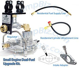 PumpBiz PCK2HD LPG Kit AltFuel Propane Conversion Kit 2 For Gas Engine AF2
