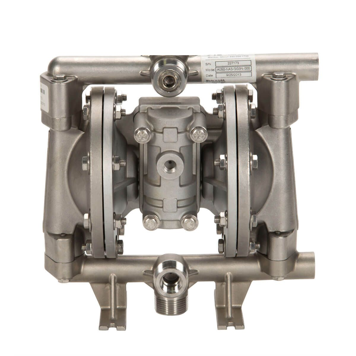 """All-Flo Stainless 1/2"""" diaphragm pump A050-NA3-GT3N-S70"""
