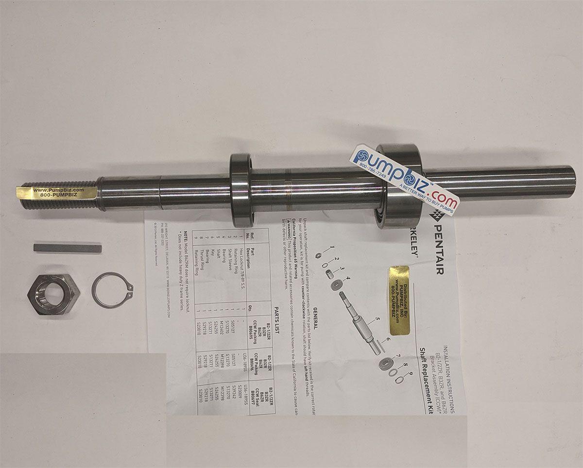 Berkeley - B80696: Shaft Kit for B3ZRM