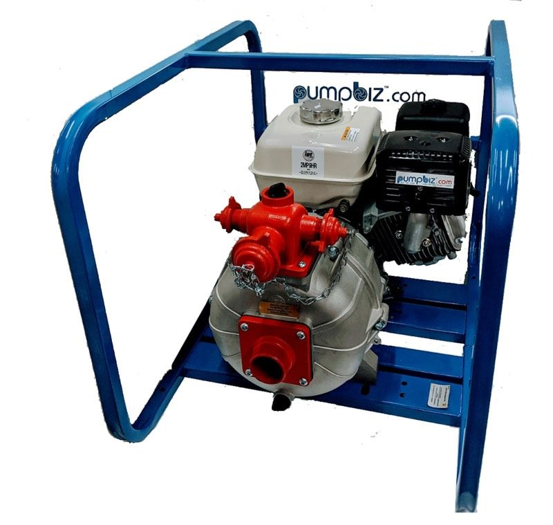 AMT Pumps - 2MP5AR: Two Stage High Pressure Fire Pumps
