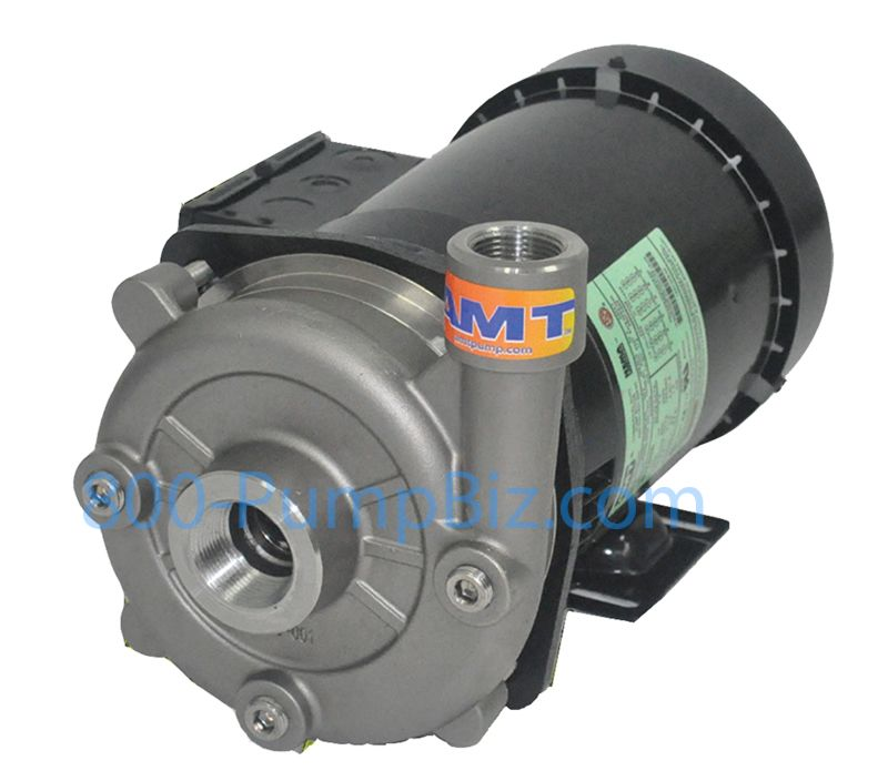 amt straight centrifugal pump electric cast iron stainless 502 503