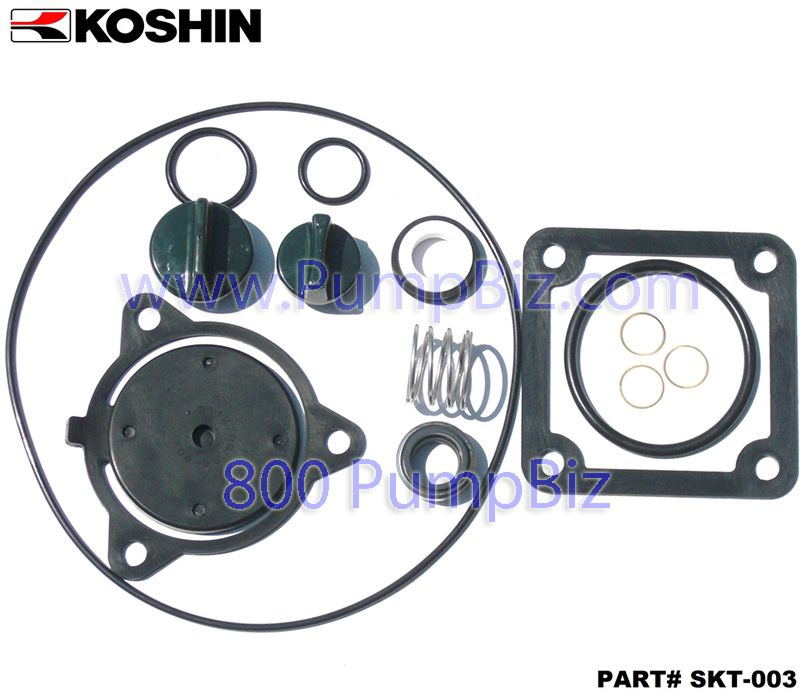 Koshin SK003 Seal kit overhaul