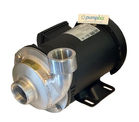 AMT-5487 -High Volume  TEFC amt centrifugal 304ss pump