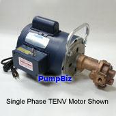 N992E:OBERDORFER PUMPS N992E Bronze Gear Pump Oberdorfer N992E Bronze Gear Pump With Buna Lip Seal And BSPT Ports.